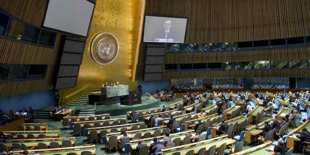 Des étudiants marocains à l'Assemblée générale de l'ONU