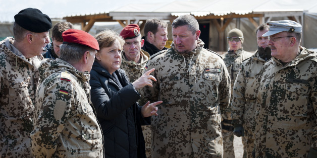 Die Kanzlerin bei der Truppe in Afghanistan