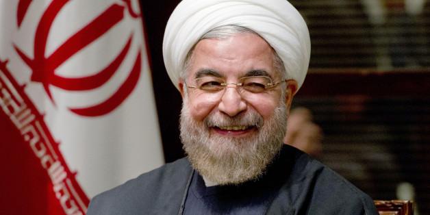 Irans Präsident unterstützt Assad