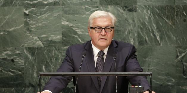 Frank-Walther Steinmeier spricht vor den Vereinten Nationen
