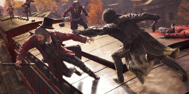 """In """"Assassin's Creed Syndicate"""" übernehmen Sie die Rollen von Jacob Frye und seiner Zwillingsschwester Evie"""