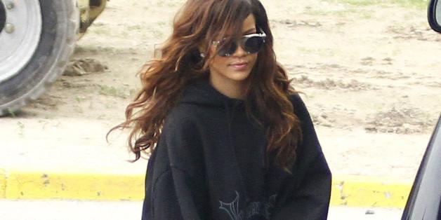 Was sich Rihanna bei diesem Outift wohl gedacht hat?