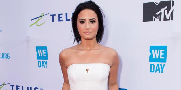 Schauspielerin Demi Lovato glänzte im Look des Tages