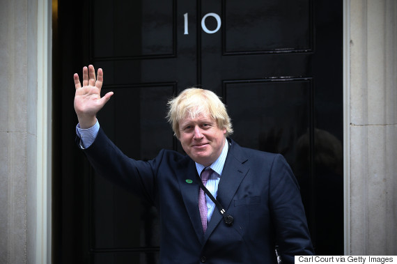 boris johnson downing street