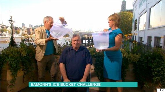 eamonn holmes ice bucket challenge