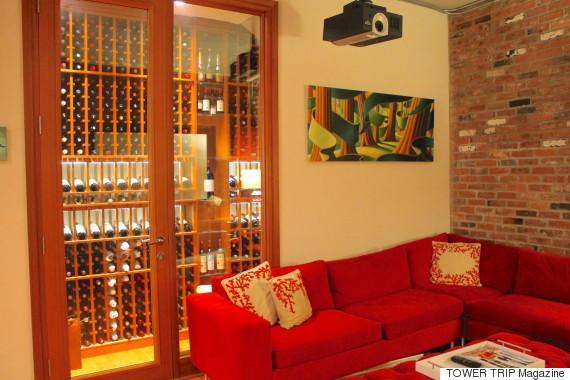 yaletown condo wine