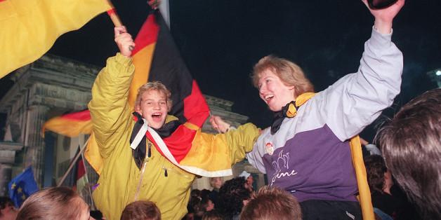 La Réunification de l'Allemagne fête ses 25 ans en plein remous