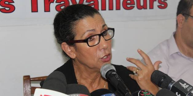 Louisa Hanoune, le 16 septembre 2015
