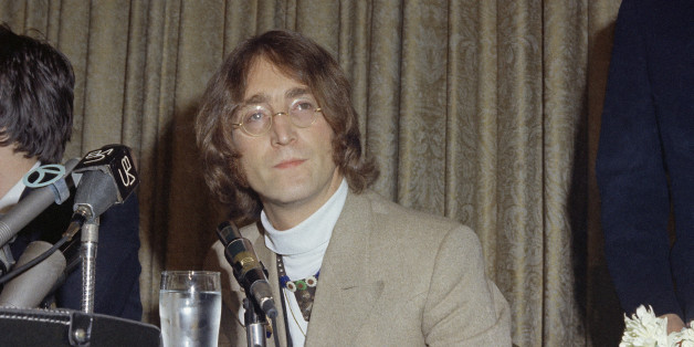 Singer  John Lennon is shown in 1971. (AP Photo)
