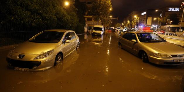 Au moins 13 morts dans les violentes inondations qui frappent la Côte-d'Azur