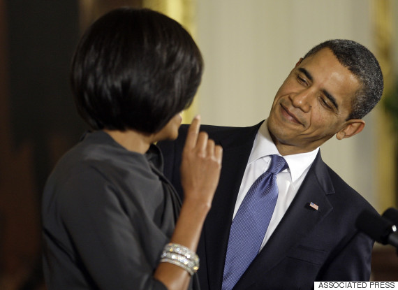 obama barack michelle reception