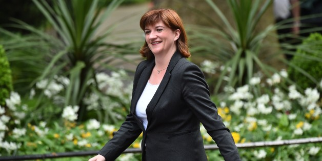 Conservative member of parliament Nicky Morgan arrives for a meeting at 10 Downing Street in central London on May 11, 2015. Conservative Prime Minister David Cameron continued to appoint members of the government after a shock election victory in the May 7 general election.  AFP PHOTO / BEN STANSALL        (Photo credit should read BEN STANSALL/AFP/Getty Images)