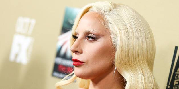 """Lady Gaga attends the LA Premiere Screening of """"American Horror Story: Hotel"""" held at Regal Cinemas L.A. Live on Saturday, Oct. 3, 2015, in Los Angeles. (Photo by John Salangsang/Invision/AP)"""