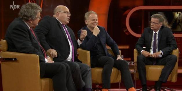 """Peter Altmaier veteidigt die Kanzlerin bei """"Günther Jauch"""""""