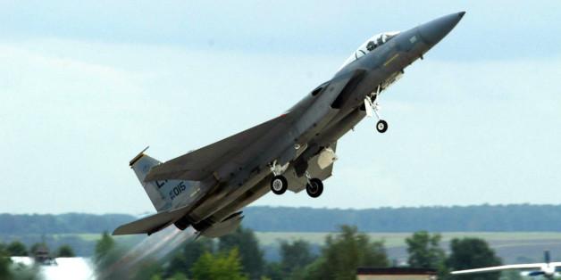 Ein Kampfjet