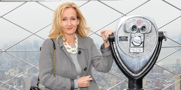Harry Potter-Autorin J.K. Rowling deckt auf