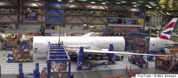 british airways building the 7879