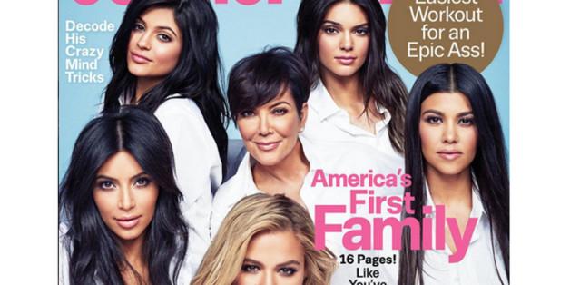 Die Kardashians auf dem Cover der Cosmopolitan: Eine schöner als die andere.