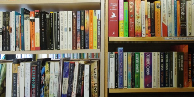Books in colour.