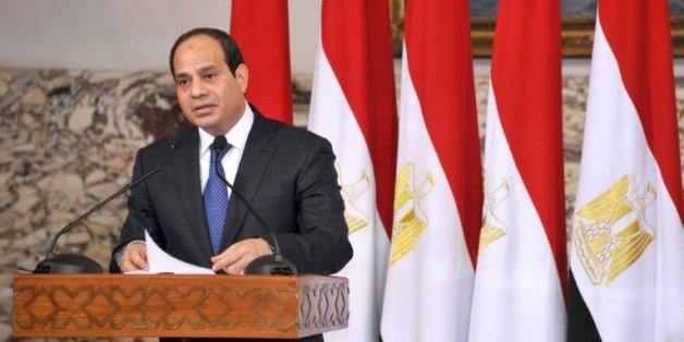 Image fournie par la présidence égyptienne, le 8 juin 2014, du président Abdel Fattah al-Sissi