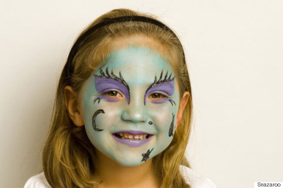 Halloween face painting tutorial wicked witch solutioingenieria