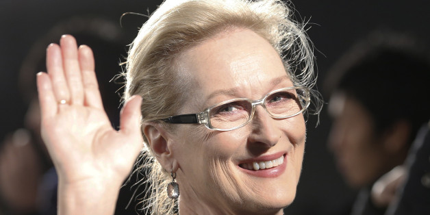 "FILE - In this Wednesday, March 4, 2015 file photo, Meryl Streep waves to photographers during the Japan premiere of ""Into the Woods"" in Tokyo. Historical drama Suffragette, which stars Carey Mulligan and Meryl Streep as votes-for-women campaigners, will open this years London Film Festival, it was reported on Wednesday, June 3, 2015. Organizers say the films European premiere will kick off the 59th London Film Festival Oct. 7. (AP Photo/Shizuo Kambayashi, File)"