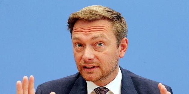"""FDP-Chef Lindner: """"Beschlagnahme von Immobilien ist Kapitulationserklärung des Staates"""""""