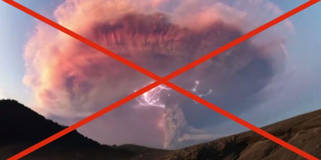 VIDÉO. Les images de l'orage volcanique en Patagonie étaient trafiquées avoue la BBC