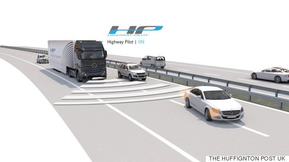 selfdriving truck