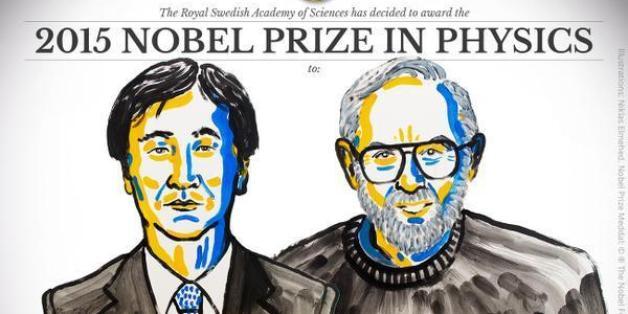 Le Nobel de physique 2015 récompense une découverte fondamentale sur les neutrinos