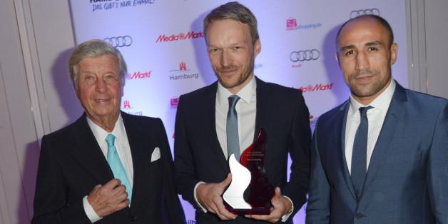 Dieter Adler wurde beim Deutschen Sportjournalistenpreis für sein Lebenswerk geehrt.