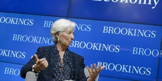 La directrice du FMI et ancienne ministre française de l'Economie, Christine Lagarde à Washington, le 22 septembre 2015
