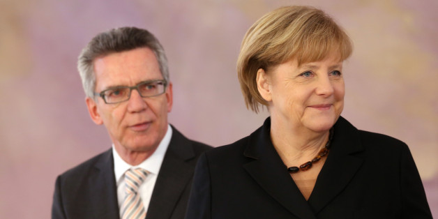 Merkel und de Maizière