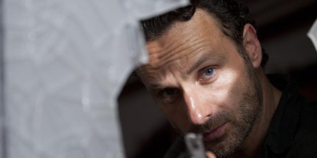 Andrew Lincoln weiß am Set von The Walking Dead nicht, wer den Serientod stirbt.
