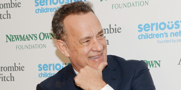 """Tom Hanks attends """"An Evening of SeriousFun Celebrating the Legacy of Paul Newman"""", hosted by the SeriousFun Children's Network at Avery Fisher Hall on Monday, March 2, 2015, in New York. (Photo by Evan Agostini/Invision/AP)"""