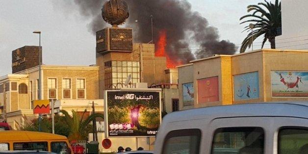 Explosions et flammes au siège d'Addoha à Casablanca