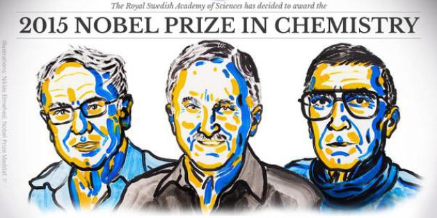 Le Nobel de chimie attribué aux travaux sur la réparation de l'ADN