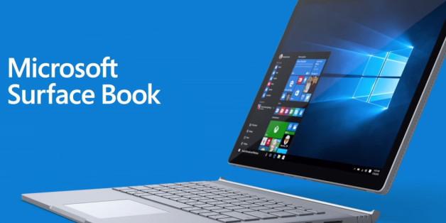 Beim Surface Book kann man die Tastatur abnehmen.