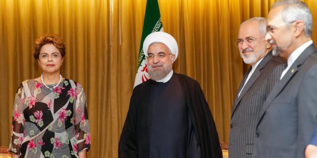 Nova Iorque - EUA, 25/09/2015. Presidenta Dilma Rousseff durante encontro bilateral com o Presidente do Irã, Hassan Rohani.  Foto: Roberto Stuckert Filho/PR