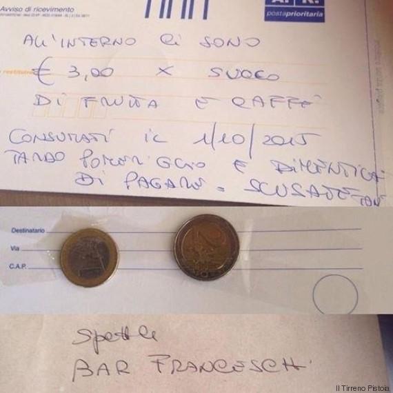 lettera soldi