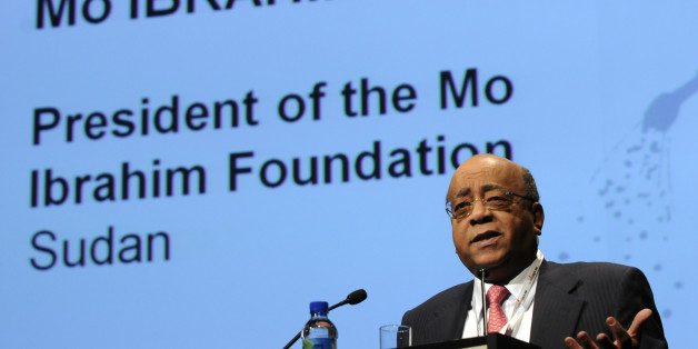 The president of the Mo Ibrahim Foundation, Mo Ibrahim of Sudan, addresses the 5th  European Development Days (EDD) at the Square Convention Center in Brussels on December 7, 2010.  EDD forum debates questions and issues pertaining to international development cooperation. The EDD are a policy forum, highlighting recent developments and important initiatives to be continued in key areas of development cooperation.          AFP PHOTO / THIERRY CHARLIER (Photo credit should read THIERRY CHARLIER/AFP/Getty Images)