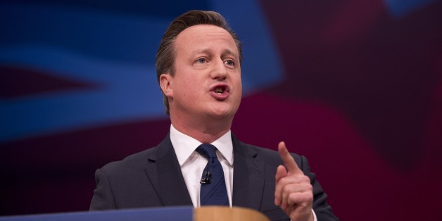 British Prime Minister David Cameron delivers a speech to delegates at the annual Conservative Party Conference in Manchester, north west England, on October 7, 2015. Prime Minister David Cameron will today call for a building 'crusade' in Britain, in a bid to address a housing shortage that has become a political hotcake. AFP PHOTO / OLI SCARFF        (Photo credit should read OLI SCARFF/AFP/Getty Images)