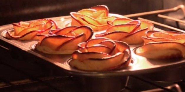 Cette recette de tarte aux pommes à la forme originale a séduit les internautes