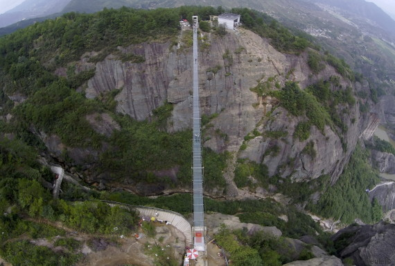 pont de verre chine