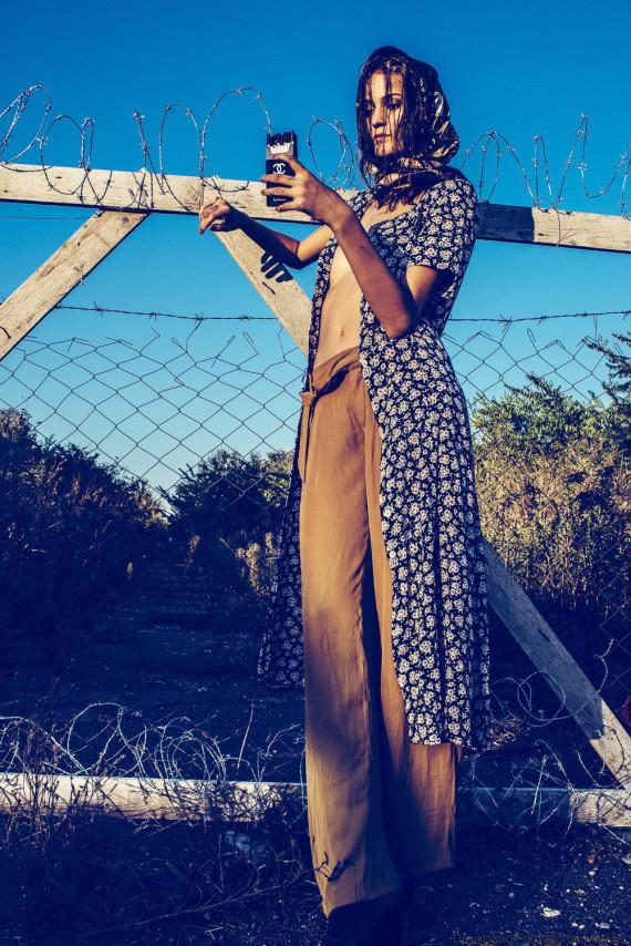 ensaio moda refugiados