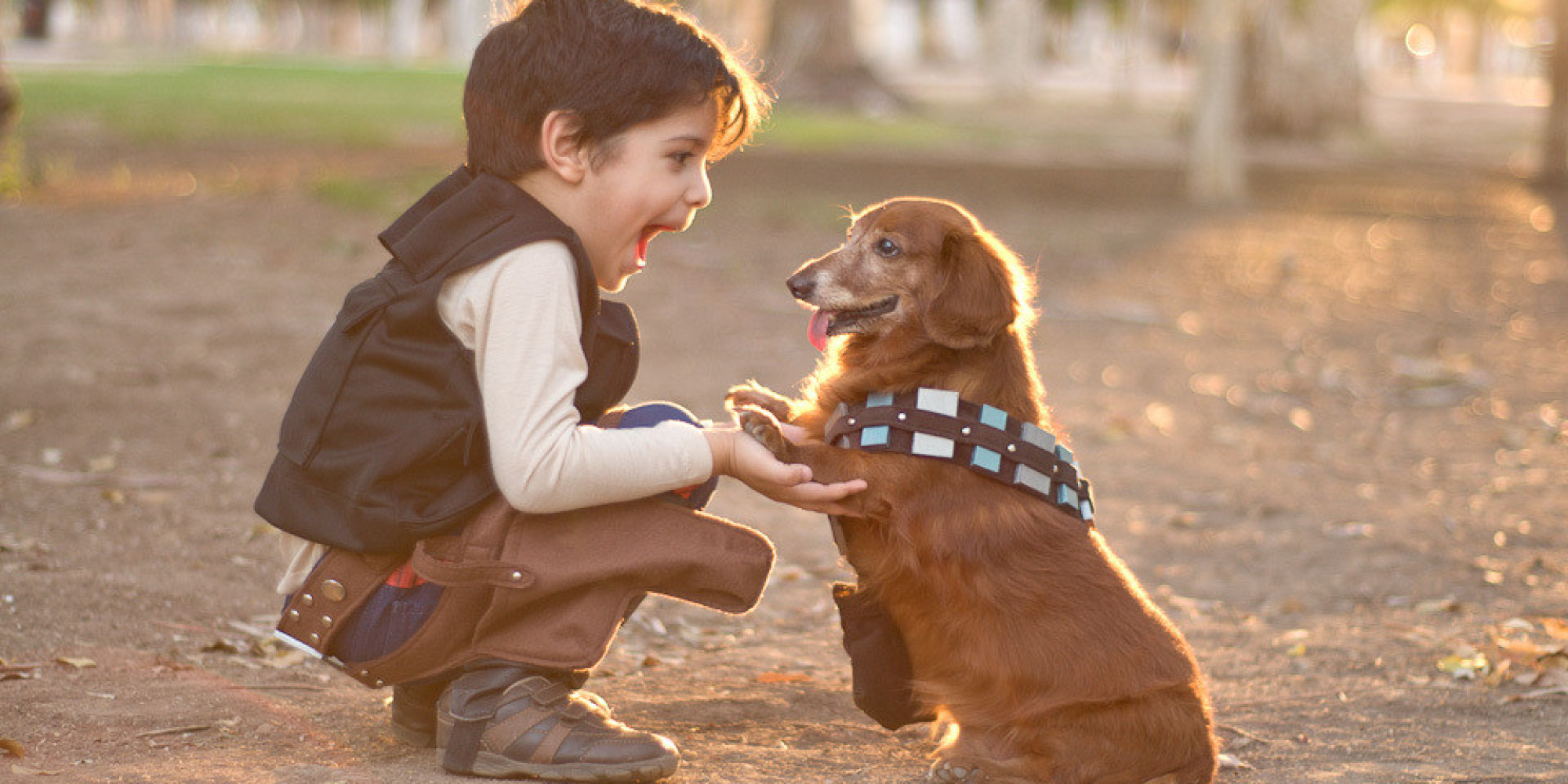 10 Adorable Halloween Costumes For Kids And Dogs That You Didnu0027t Know You Needed To See | HuffPost  sc 1 st  HuffPost & 10 Adorable Halloween Costumes For Kids And Dogs That You Didnu0027t ...