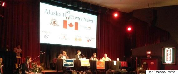 peace river debate
