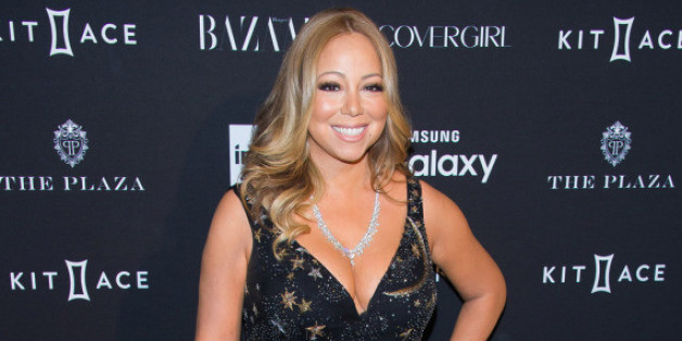 Mariah Carey auf der New York Fashion Week