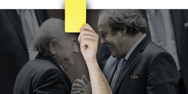 Michel Platini et Sepp Blatter sont suspendus pendant 90 jours.