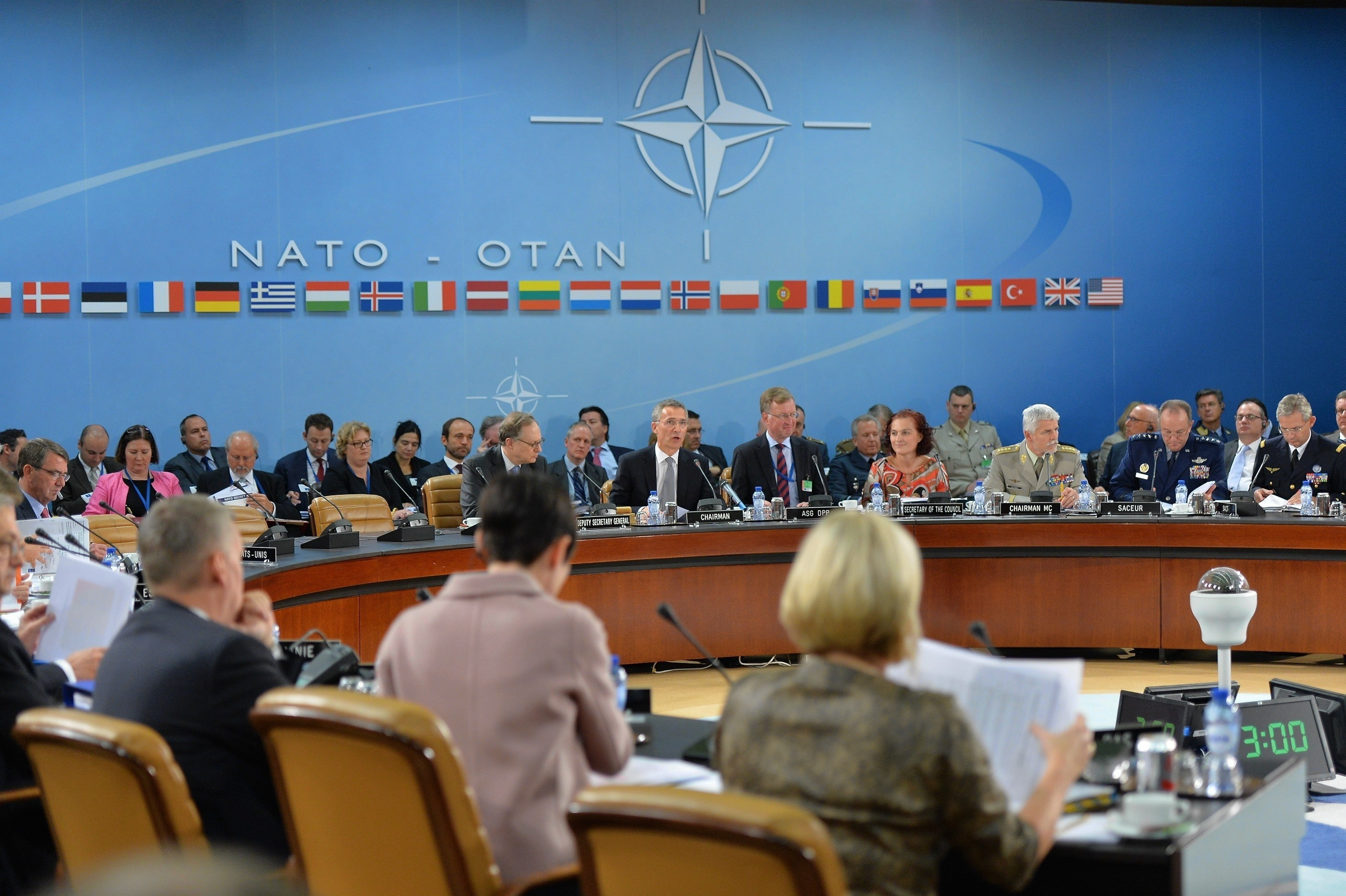 nato ministers 8 october 2015